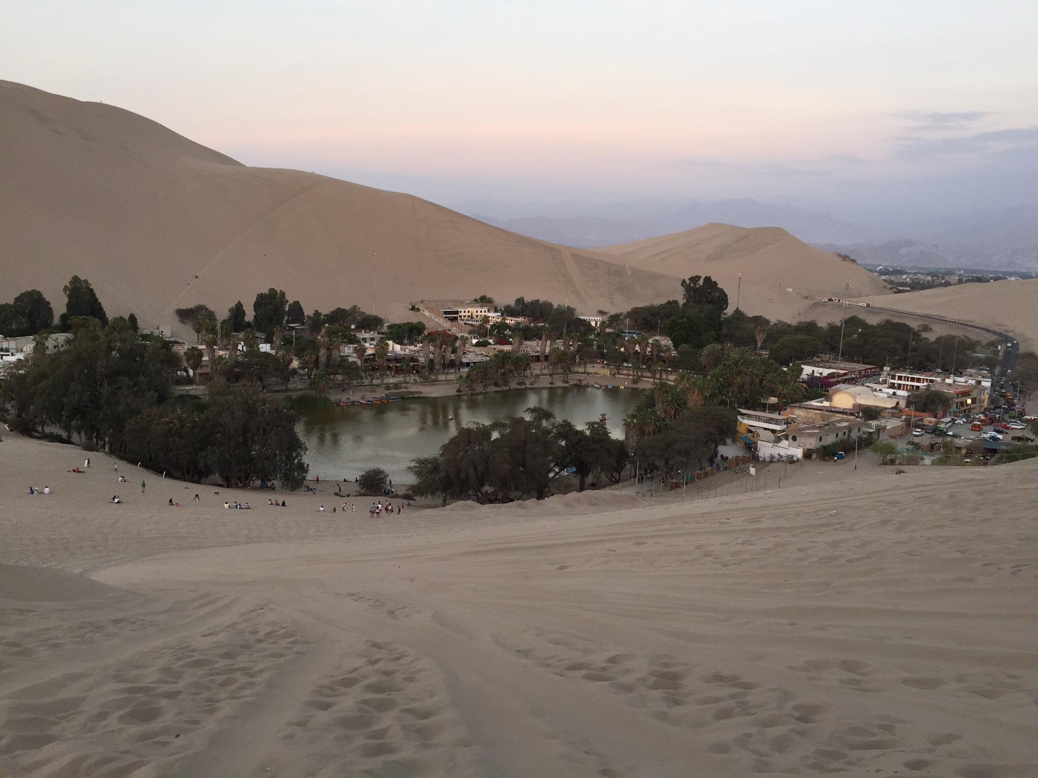 ein etwas andere Blick auf Huacachina