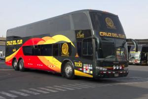 Busfahren in Peru