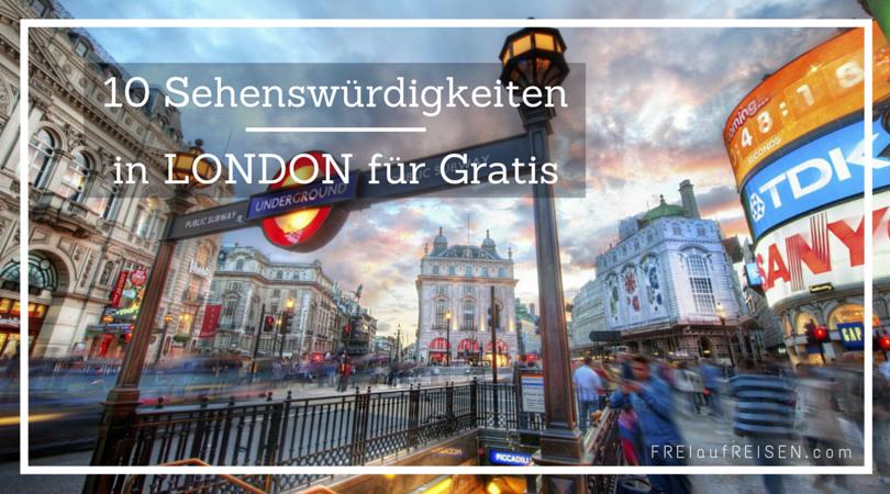 10 Sehenswürdigkeiten In London Für Gratis