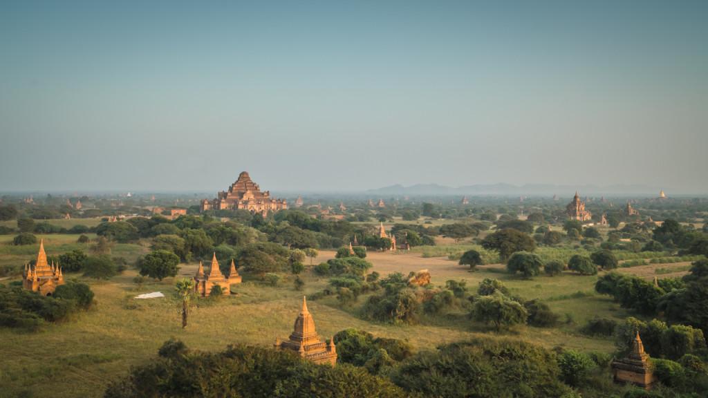 Bagan, Myanmar, Pagode, Pagodefield