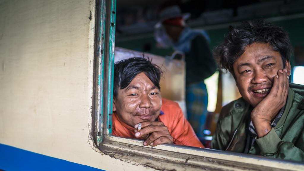Eisenbahn, Myanmar, People