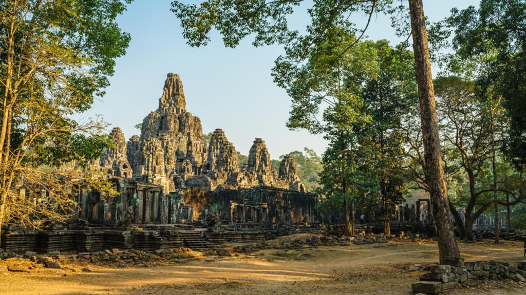 Angkor Wat, Kambodscha, Cambodia, Sieam Reap, Bayaon, Sunset, Sunrise