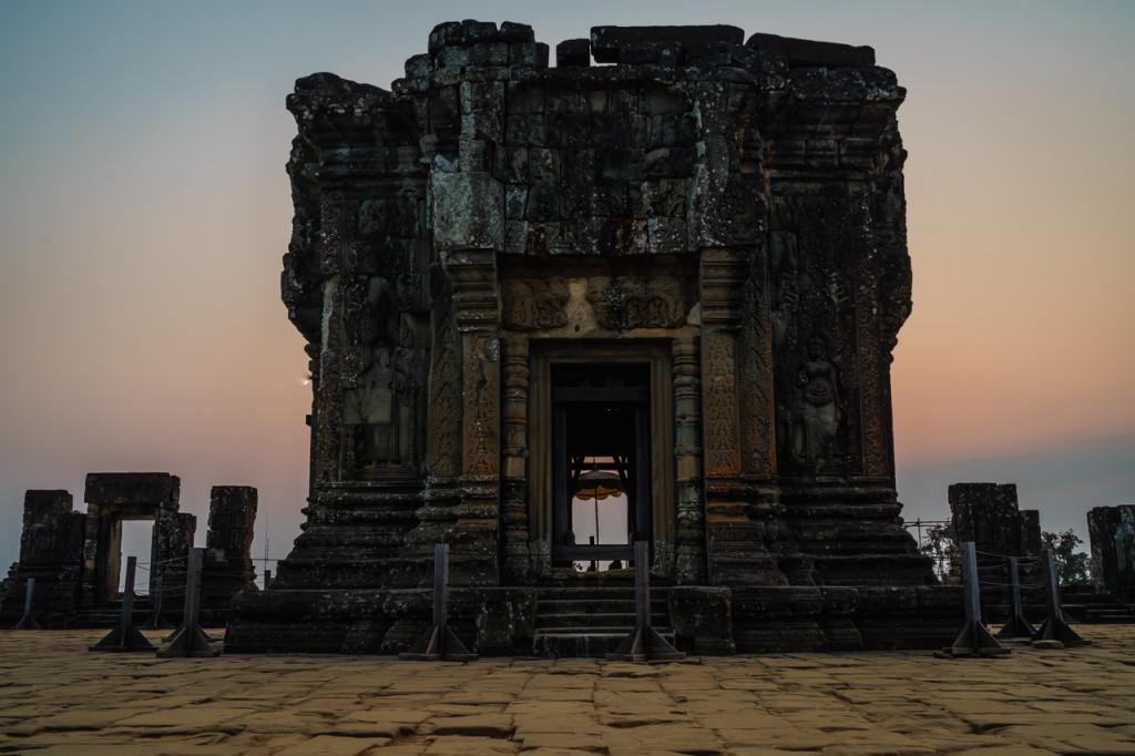 Angkor Wat, Kambodscha, Cambodia, Sieam Reap, Sunrise, Phnohm Bakheng