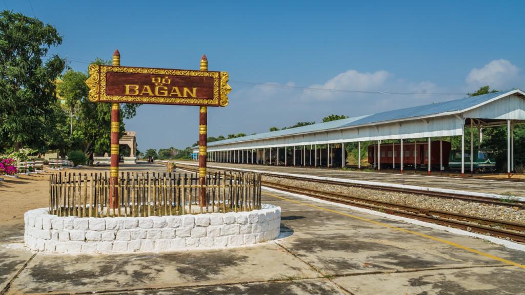 Eisenbahn, Bahnhof Bagan