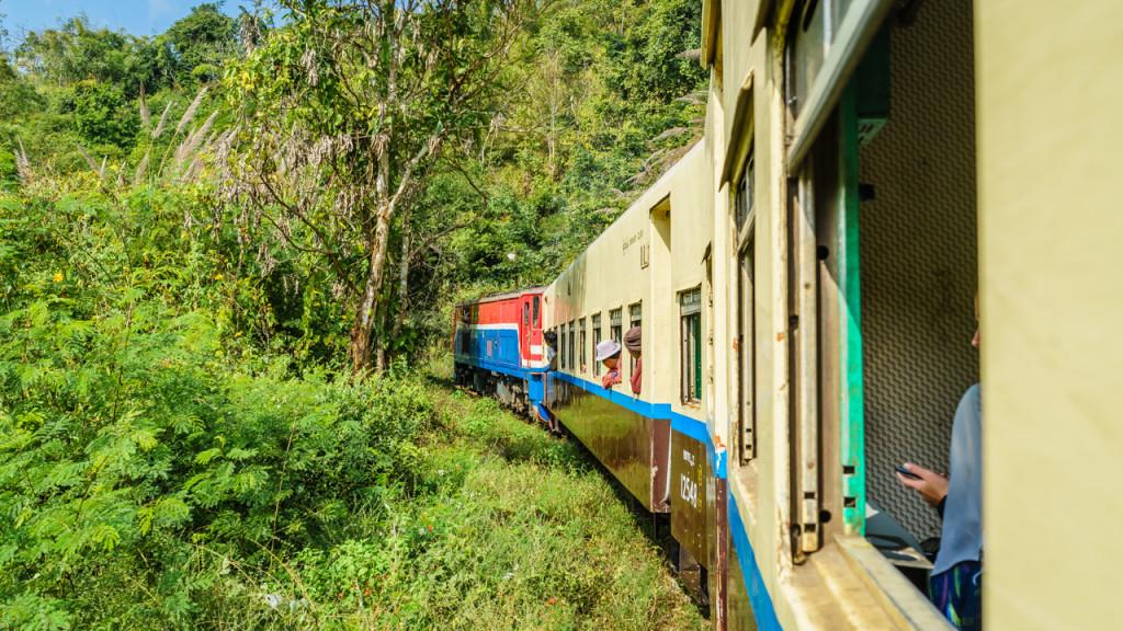 Eisenbahn, Myanmar